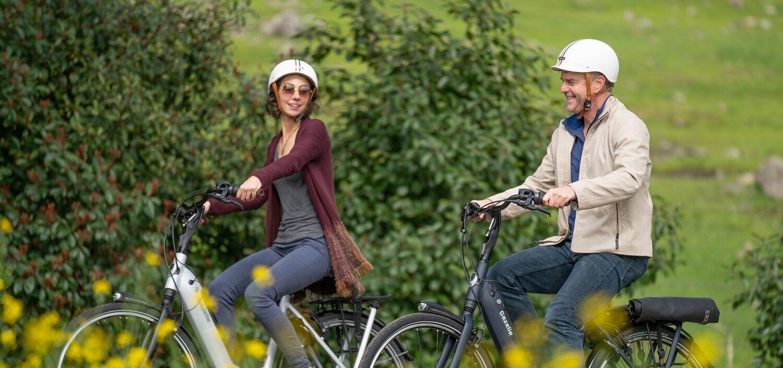 På cyklen om foråret | Elcykel forårsklar