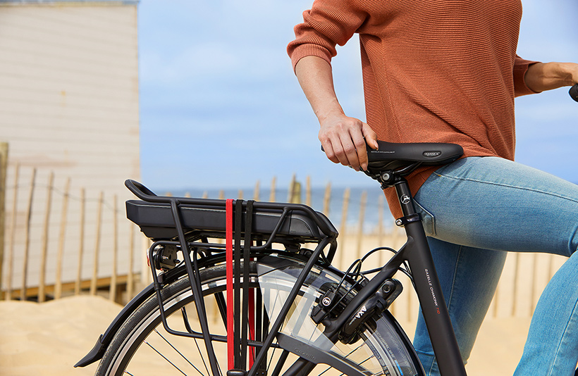 Mand på elektrisk cykel | Gode cykelapps