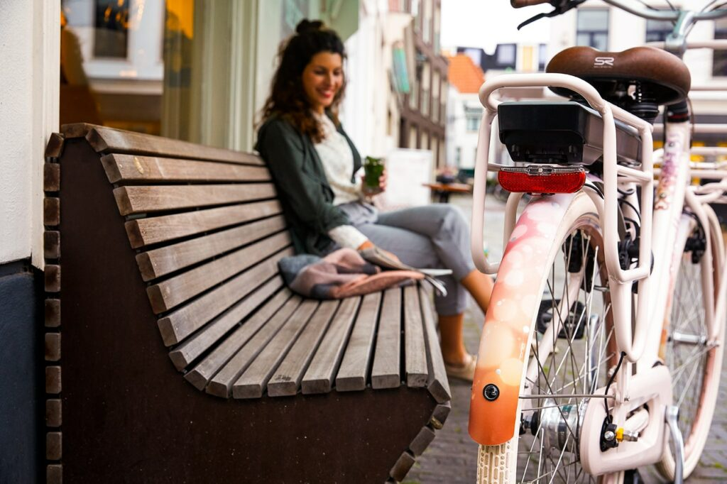 How to look after your electric bike | woman with e-bike
