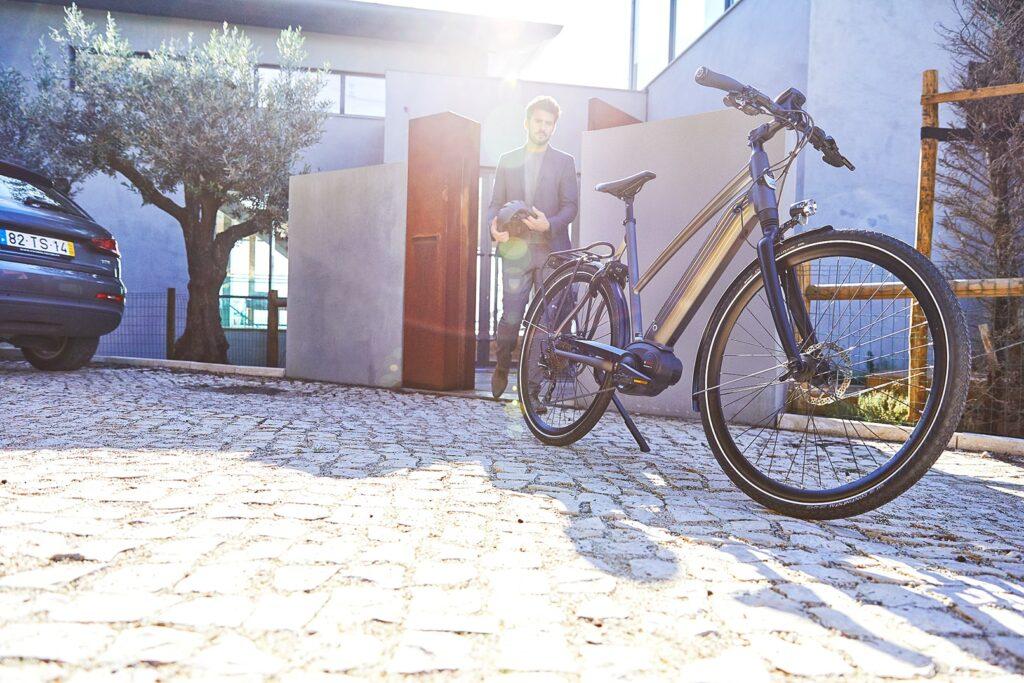 Vélo electrique sportif
