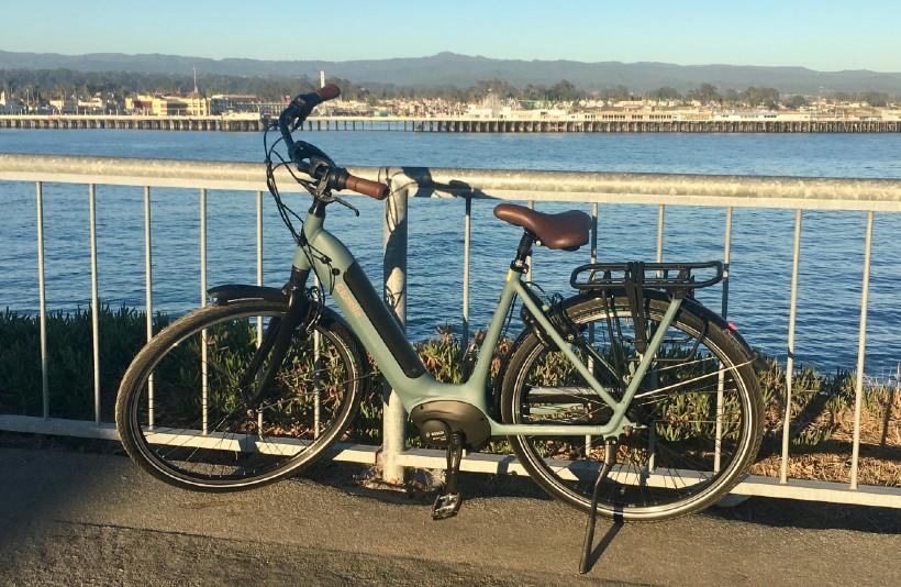 low-step frame bike