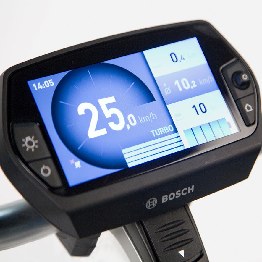 Het Bosch Nyon display is de eerste all-in-one elektrische fietscomputer met geïntegreerde navigatie.