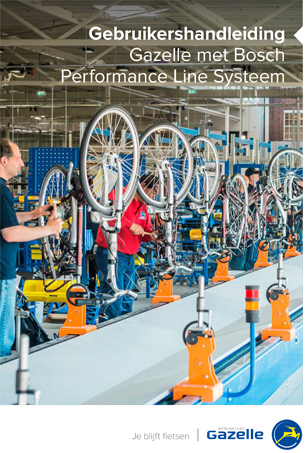 Handleiding Bosch Performance Line
