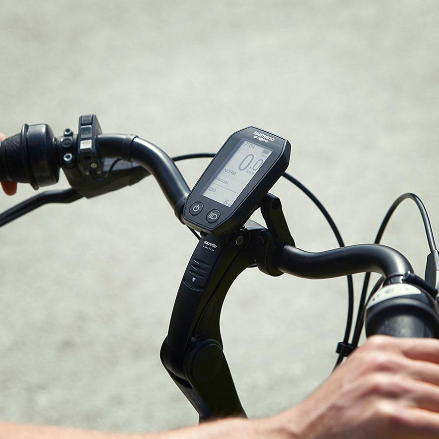 Die vielen Gänge ermöglichen Ihnen ein flexibles, leichtes Schalten während Ihres Ausflugs ins Grüne oder Ihrer sportlichen Runde.