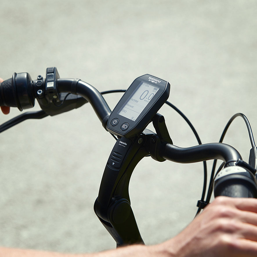 Den lave vægt af Chamonix gør den nem og hurtig at cykle på.