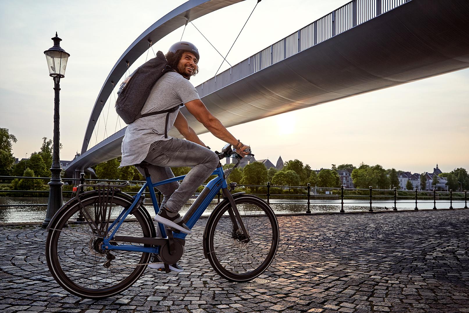 Batteriet afgør i høj grad, hvor langt du kan cykle med trædeassistance på en elcykel (cykelrækkevidde).