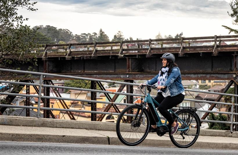high-step frame bike