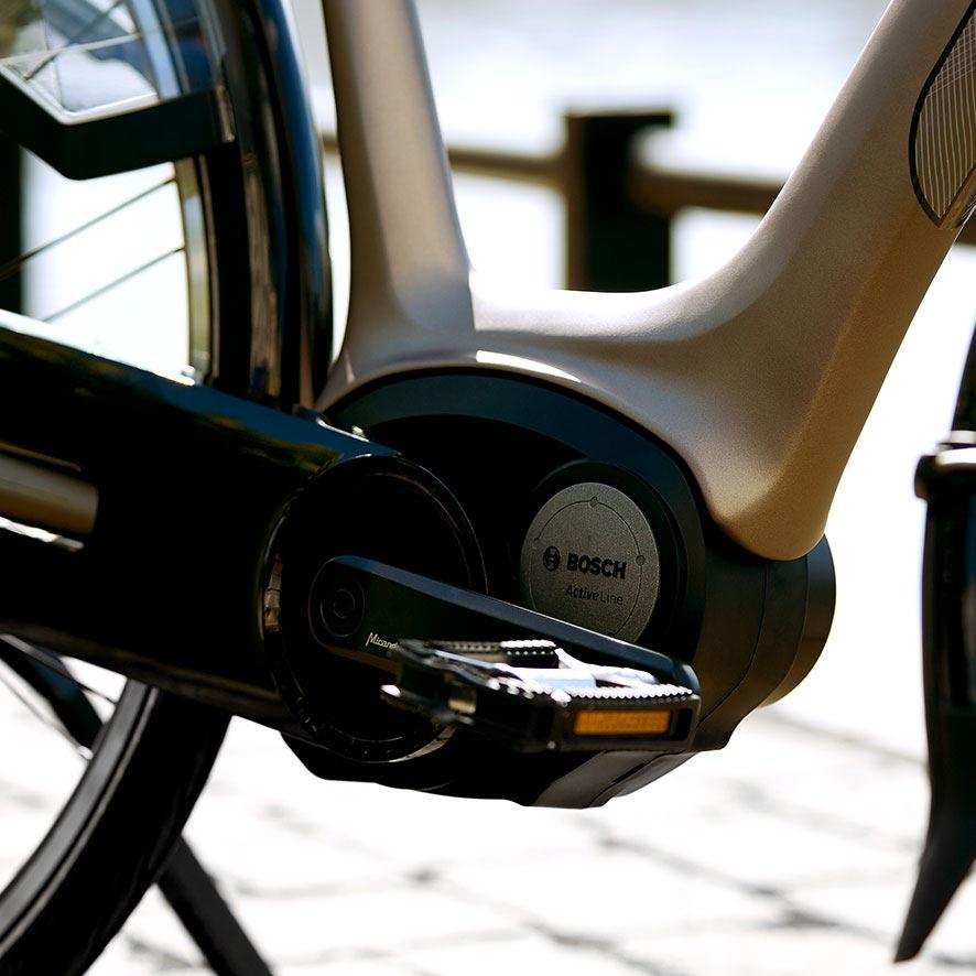 Robuste, le moteur Bosch est idéal pour les trajets quotidiens comme pour les longues distances.