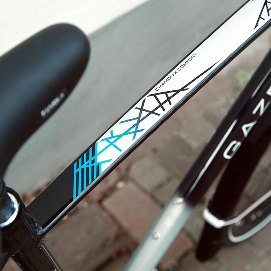 Med letvægtskomponenter er det en meget større fornøjelse at cykle på disse Gazelle bycykler.
