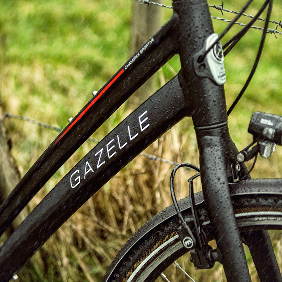 Mit seinem sportlichen Design ist das Chamonix ideal für schnelles Fahren.
