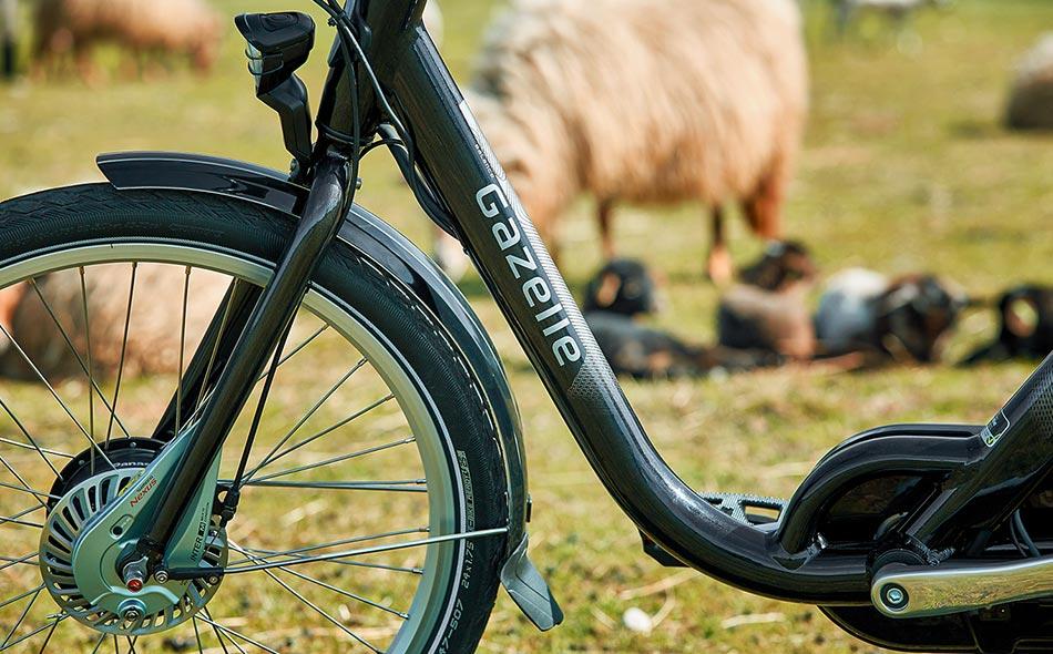 Panasonic motorsystemet giver dig et sikkert og pålideligt skub på cyklen.