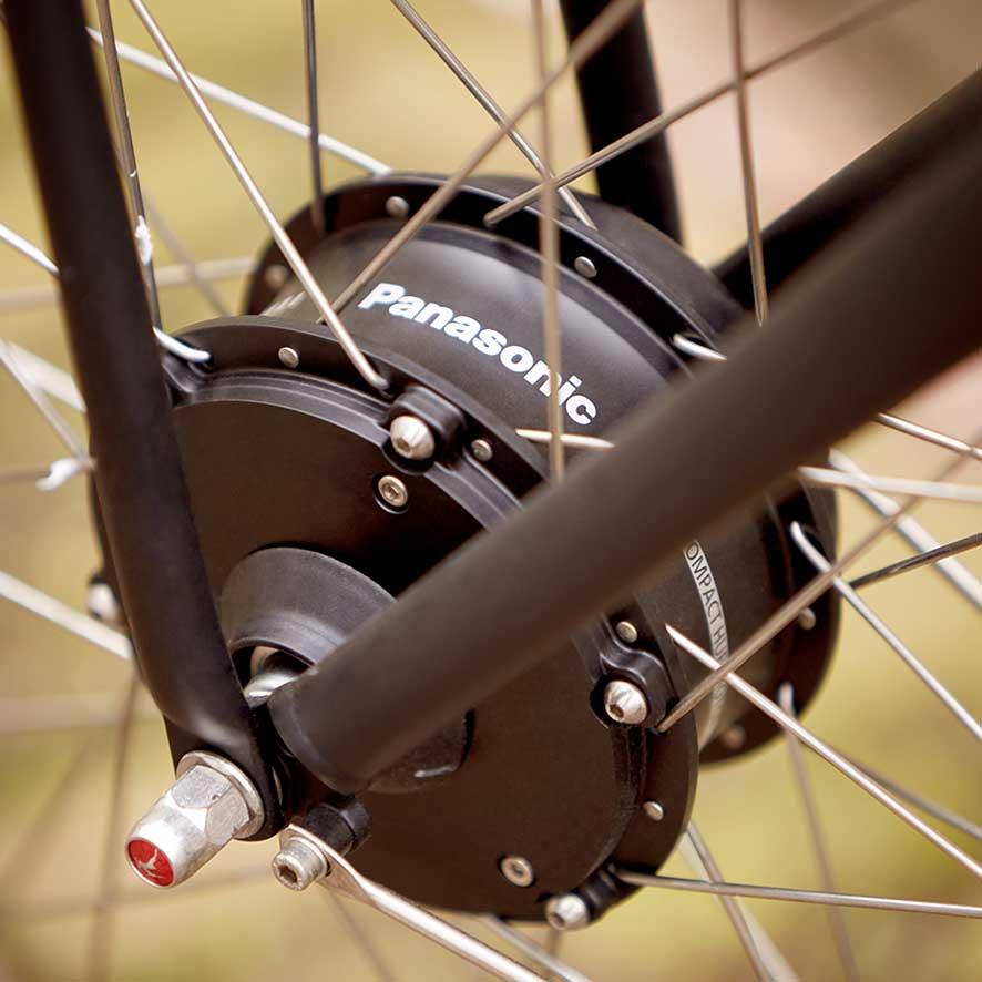Que ce soit pour la version Comfort, Trekking ou Sportive de nos vélos (électriques) Chamonix. Pour la randonnée sportive et les longues balades.
