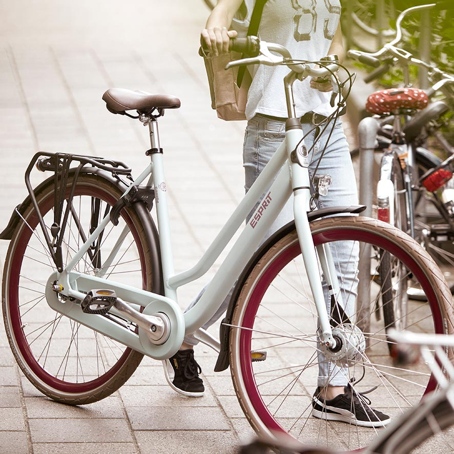Going to work, doing your everyday shopping or a bike ride in the countryside; you will enjoy every trip on bikes by Gazelle.