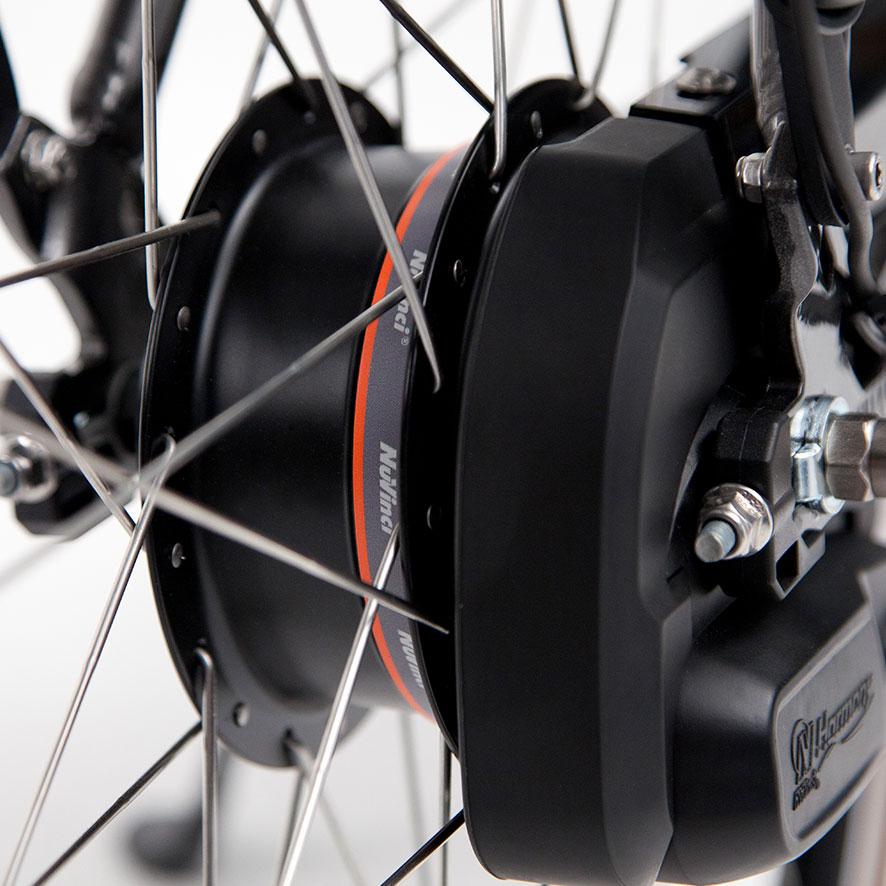 Durch die Tretunterstützung (die Sie bis 25 km/h erhalten) kommen Sie mit dem Rad leicht in Fahrt.