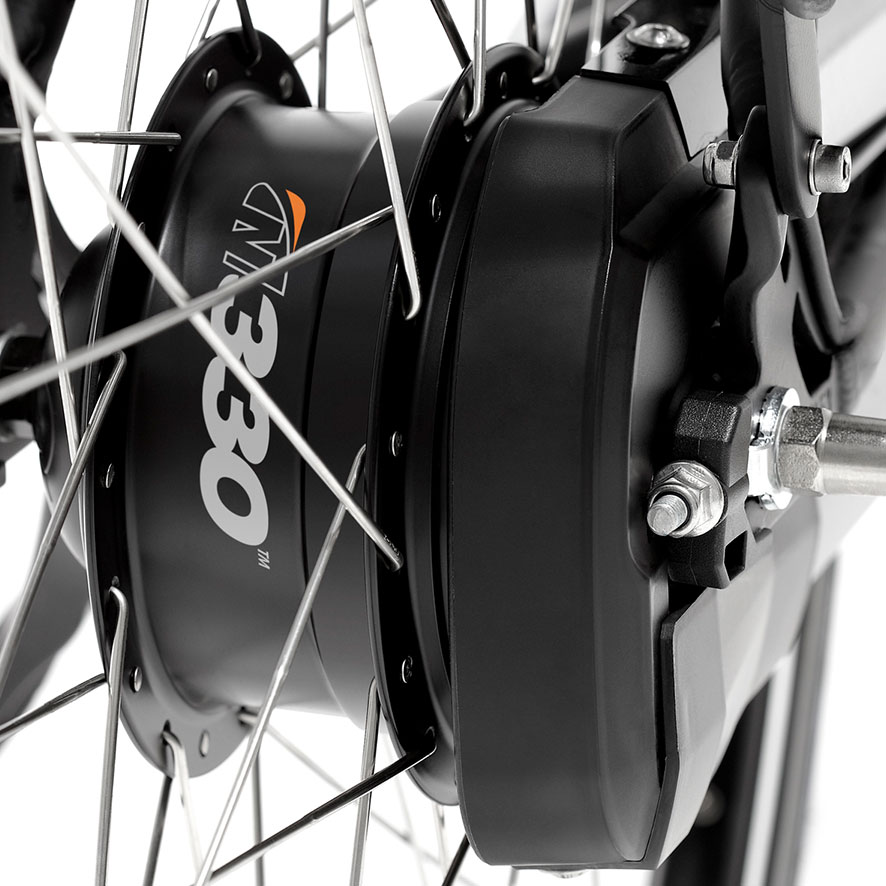 Keep control in your own hands with the NuVinci Manual. You select which gear you want to ride in yourself.