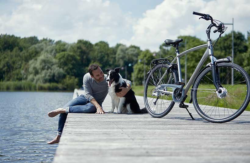 Vil du cykle komfortabelt til arbejde eller på langturscykling!