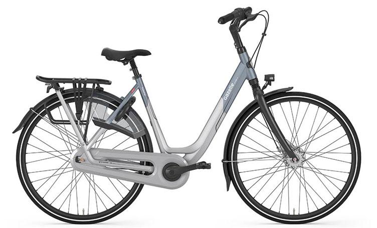 De Grenoble is een eigentijdse stadsfiets met een modern frame en de beste onderdelen. Bij het ontwerp van de fiets is er extra gelet op integratie en rijgedrag.