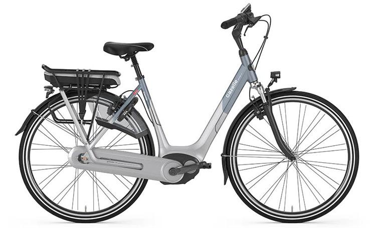 Een fiets die wel tegen een stootje kan door de krasbestendige lak, het zeer sterke aluminium frame en de gesloten kettingkast