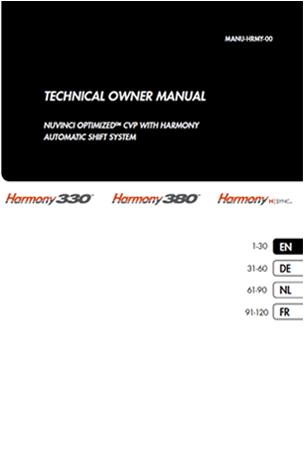 Manuel NuVinci Harmony 330 + 380