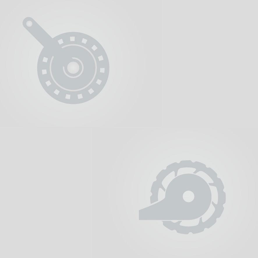 Bij de schijfrem wordt (tijdens het remmen) druk uitgeoefend op de schijf die zich naast de naaf van het wiel bevindt