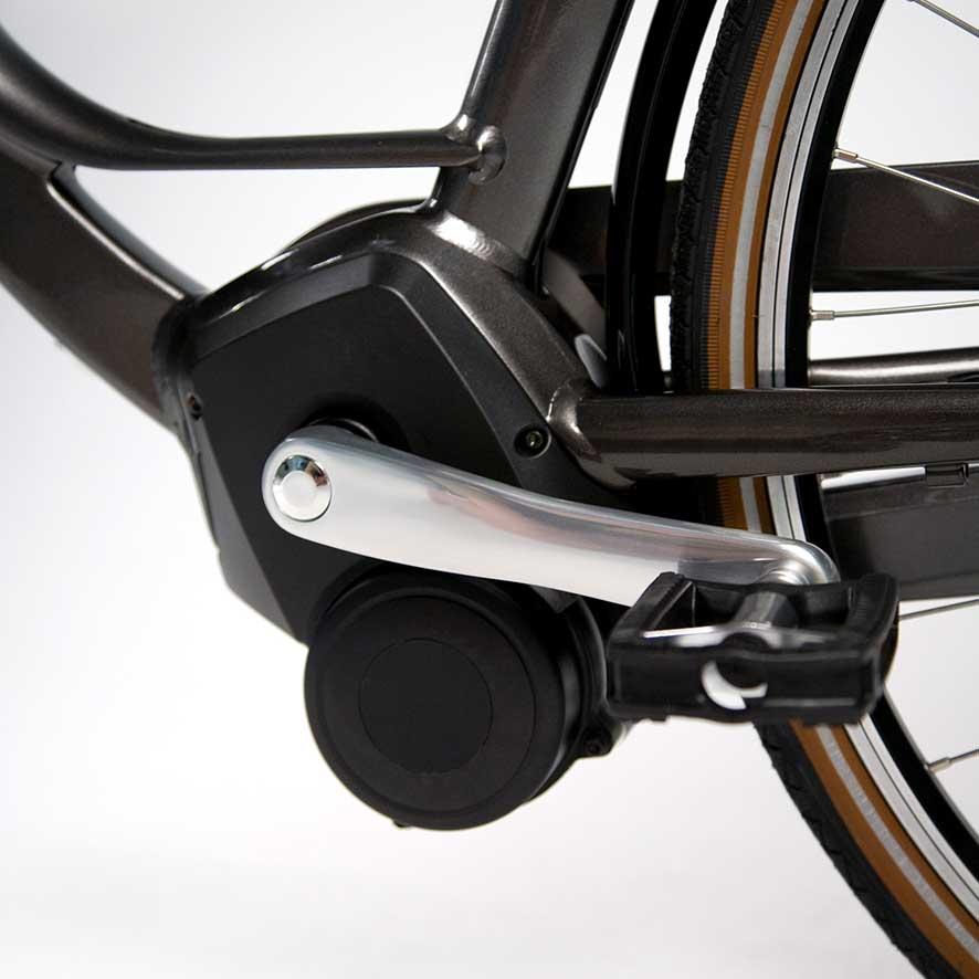 De rotatiesensor meet of de pedalen van de fiets draaien