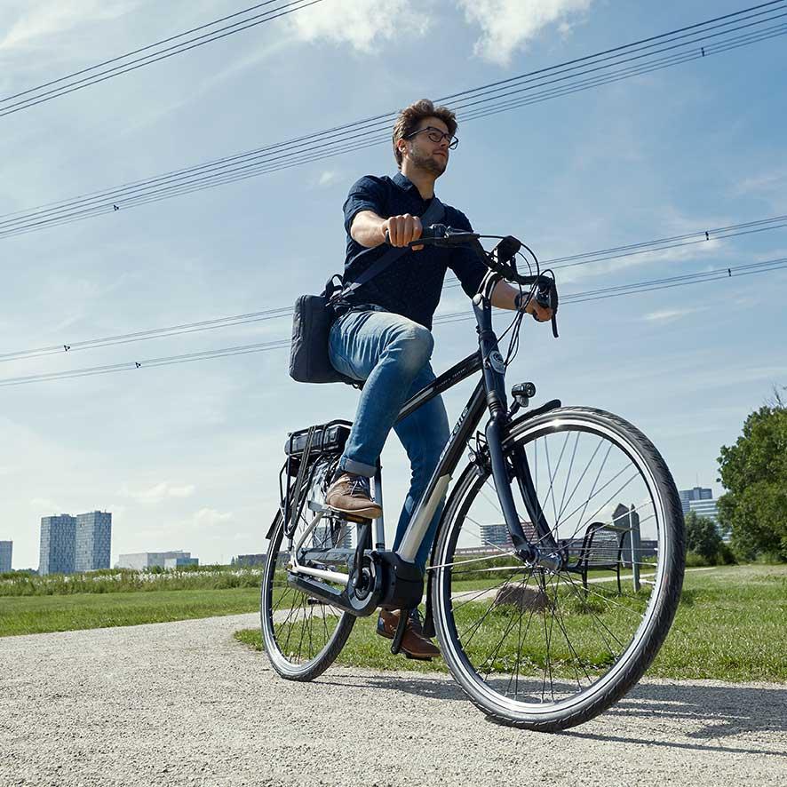 De accu bepaalt voor een groot gedeelte het aantal kilometers dat je ondersteuning krijgt van je elektrische fiets (actieradius).