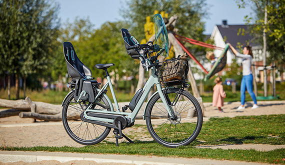 Vélo Gazelle Bloom - 2 sièges enfant